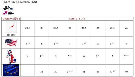 shoe size chart japan to us japanese shoe size chart images