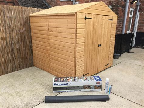 Just Kits Sheds by New Shed Roof Kits Firestone Rubber Cover System