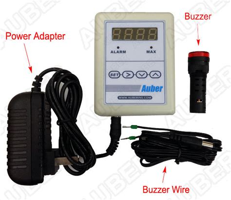 Chimney Alarm - thermometer for stove pipe chimney with remote alarm