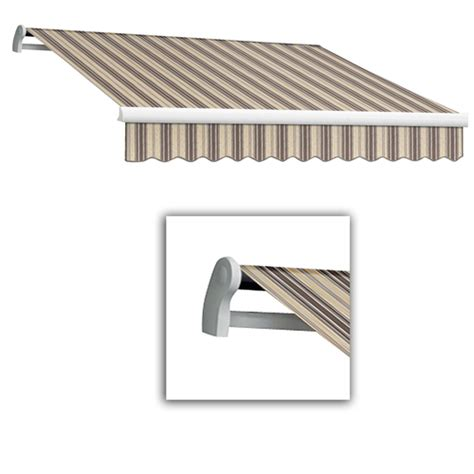 Retractable Patio Awnings At Lowes Awnings Covers Structures