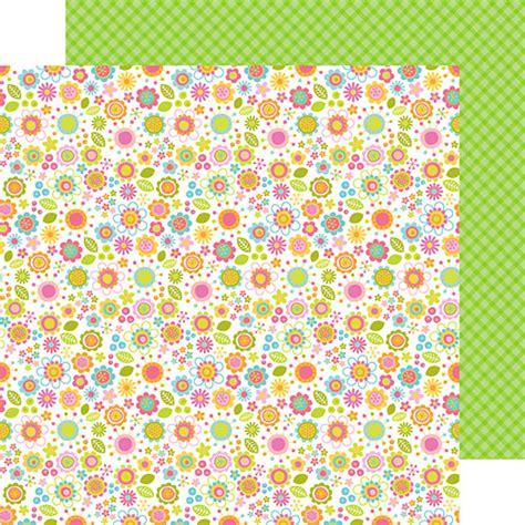 doodlebug paper doodlebug design springtime collection 12 x 12