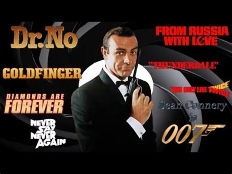 the worst james bond movies part ii youtube ranking of the sean connery and george lazenby james bond