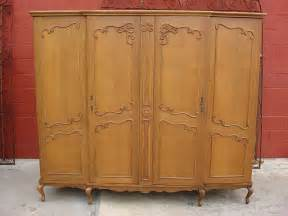 vintage armoire wardrobe closet from rubylane sold on ruby