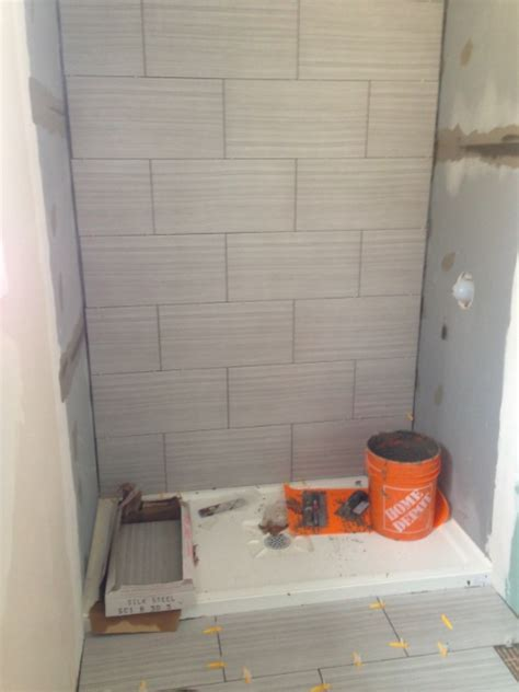 bathroom stall installation julie and geofford s ensuite bathroom fresh reno