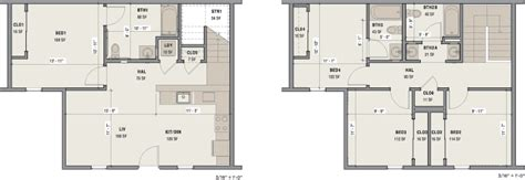 princeton 5831 4 bedrooms and 3 baths the house designers 4 bed 3 bath townhome 2 story lakeside apartments