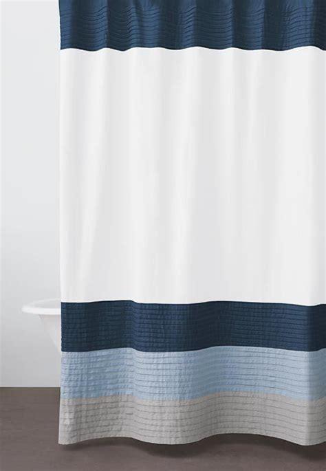 donna karan curtains 1000 ideas about navy shower curtains on pinterest