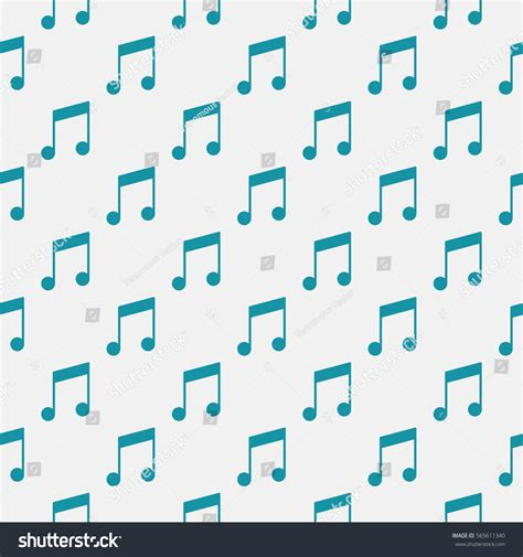 seamless pattern music melody song vector minimal seamless pattern music notes stock vector