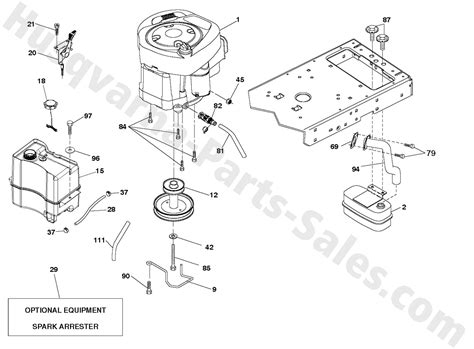 husqvarna lawn mower parts diagram oem husqvarna lawn tractor parts oem tractor engine and