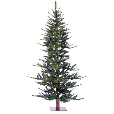colorado pine or aster pine artificial christmas tree vickerman minnesota pine 6 green artificial half tree with 200 clear lights with
