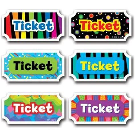 printable prize tickets 8 best images of free printable prize tickets printable