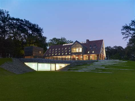 modern house in country modern and classic meet renovated german country house