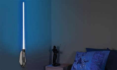 lightsaber bedroom light star wars lightsaber room light groupon