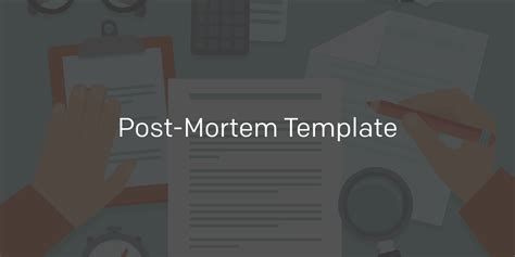 Incident Post Mortem Template by Post Mortem Template Pagerduty Incident Response
