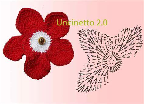schemi fiori uncinetto italiano schemi gratis per uncinetto