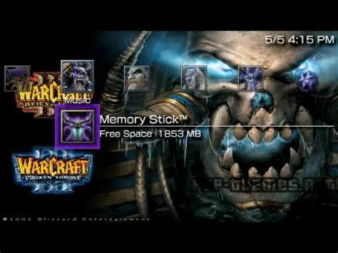 psp themes dota 2 psp theme warcraft iii undead psp themes net youtube