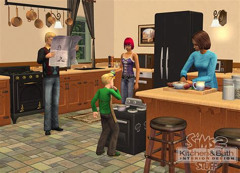 the sims 2 kitchen bath interior design
