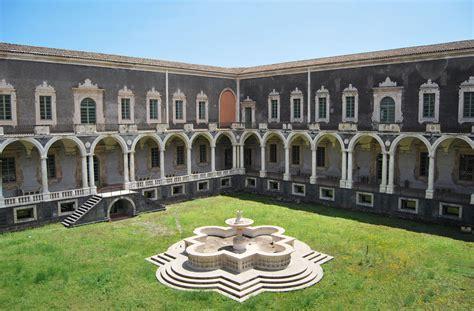 a catania visita il monastero dei benedettini a catania