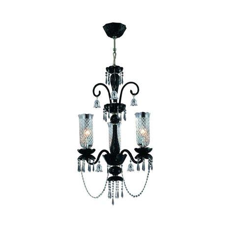 Eurofase Mariah Collection 3 Light Black Hanging Black Hanging Chandelier