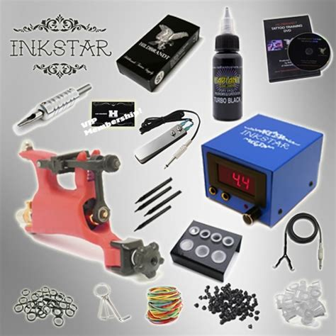 tattoo machines kits kit inkstar venture rotary and radiant black ink