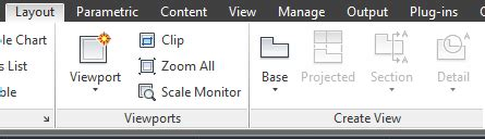 layout tabs missing autocad 2015 model documentation commands missing from layout ribbon in