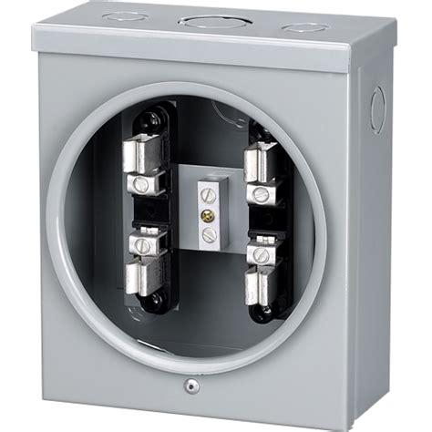 in a meter electrical energy meter base