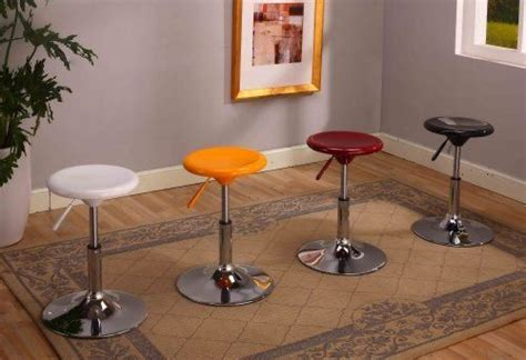 Airlift Stool With Chrome Finish by Chrome Finish Air Lift Adjustable Swivel Bar Stool