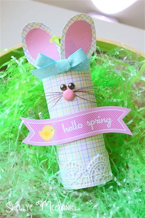 Toilet Paper Easter Bunny Craft - 13 diy bunny ideas craft o maniac