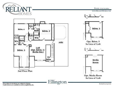 ellington floor plan ellington a fe reliant homes new homes in atlanta