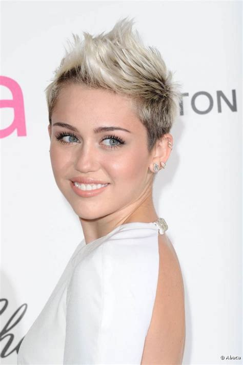 miley cyrus short haircut 2013 miley cyrus showed off her short mohawk hairstyle at an