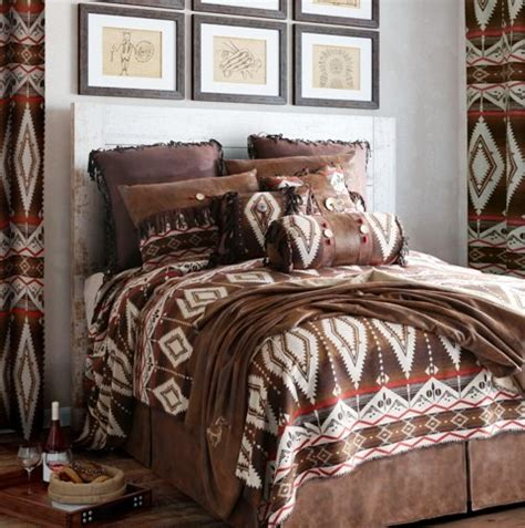 western bedding sets queen carjb6116 pecos trail western 5 piece bedding set