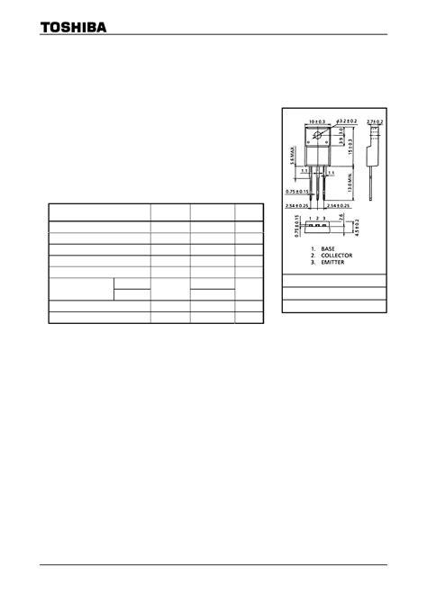 transistor fet hoja de datos b1375 hoja de datos datasheet pdf 2sb1375