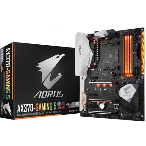 Gigabyte Ga Ax370 Gaming 5 Am4 Amd Promontory X370 Ddr4 Usb 31 gigabyte ga ax370 gaming 5 amd x370 so am4 dual