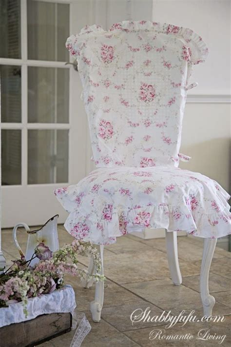 shabbyfufu chair covers beautiful slip cover for a dining chair i see around me slipcovers