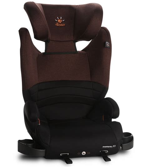 booster seat with backrest diono monterey xt high back booster car seat
