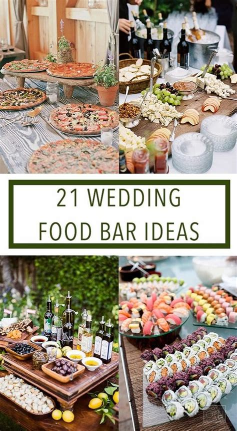 Wedding Hors D Oeuvres Ideas by In Style Food Bars And Wedding Food Bars On