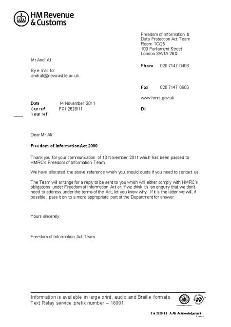 Request Letter Format Customs Hmrcleaks Of A Civil Service Whistleblower In Majesty S Revenue And Customs Hmrc