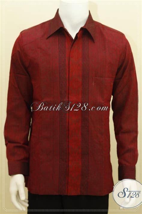 Baju Lengan Panjang Untuk Pria baju tenun pria ukuran l lengan panjang untuk kondangan dan acara resmi lainnya lp1230nf l
