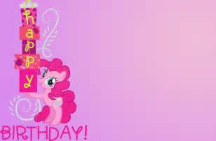 my pony birthday card by therealarietta on deviantart