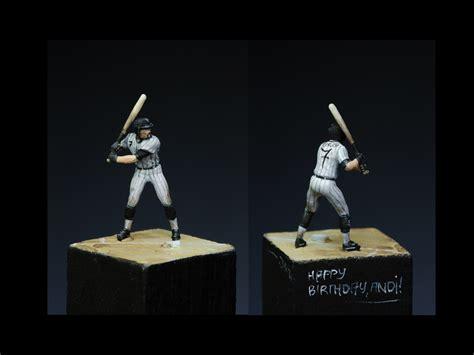 Preiser 29008 Baseball Player Miniature Figure voodoo go white sox go
