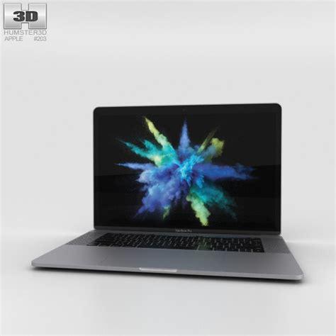 Macbook Pro Space Grey apple macbook pro 15 inch 2016 space gray 3d model hum3d