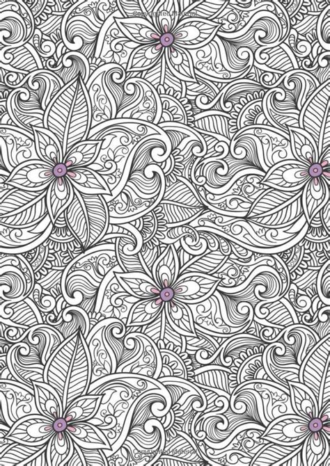 anti stress colouring book for adults creative therapy an anti stress coloring book