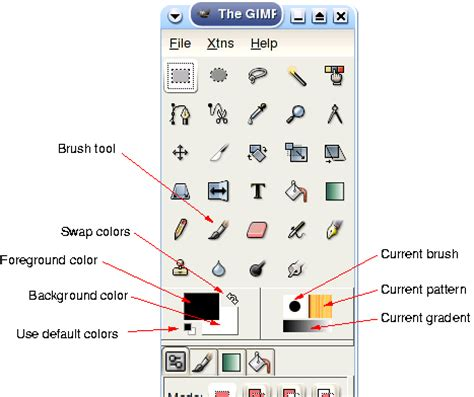 reset tools gimp open toolbox in gimp bing images