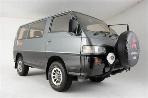 1991 mitsubishi delica 1991 mitsubishi delica exceed 4wd diesel sunroof auto