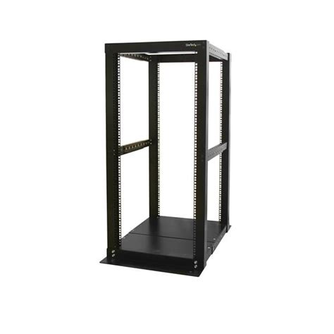 Open Frame Server Rack by 25u Open Frame Rack Cabinet 4 Post Adjustable Depth
