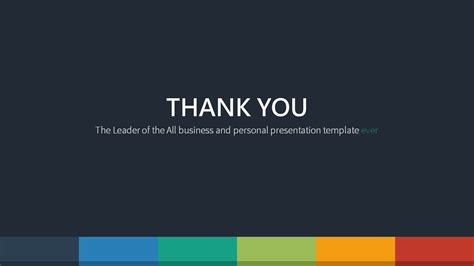 thank you templates for ppt free powerpoint templates thank you gallery templates exle