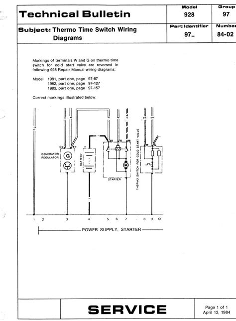 thermo switch wiring diagram thermo time switch questions pelican parts technical bbs
