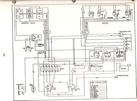 2460 tractor manual wiring diagrams wiring diagram
