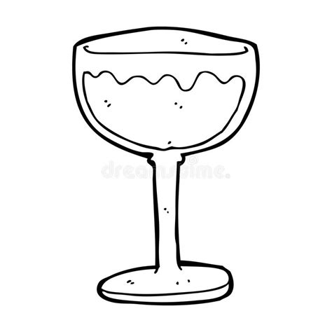 cartoon white wine cartoon glass of red wine stock illustration illustration