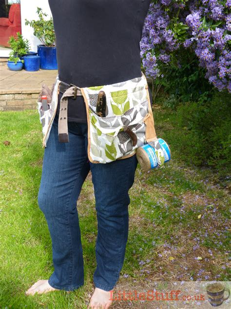 sewing pattern utility belt make your own garden tool belt tutorial littlestuff