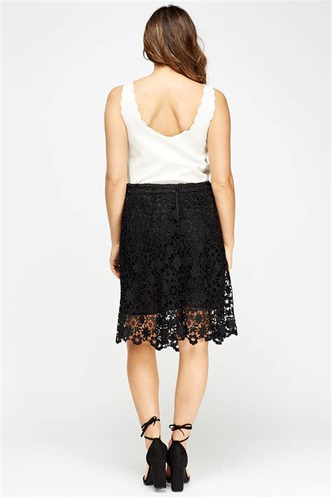 midi overlay skirt mesh overlay midi skirt black or white just 163 5